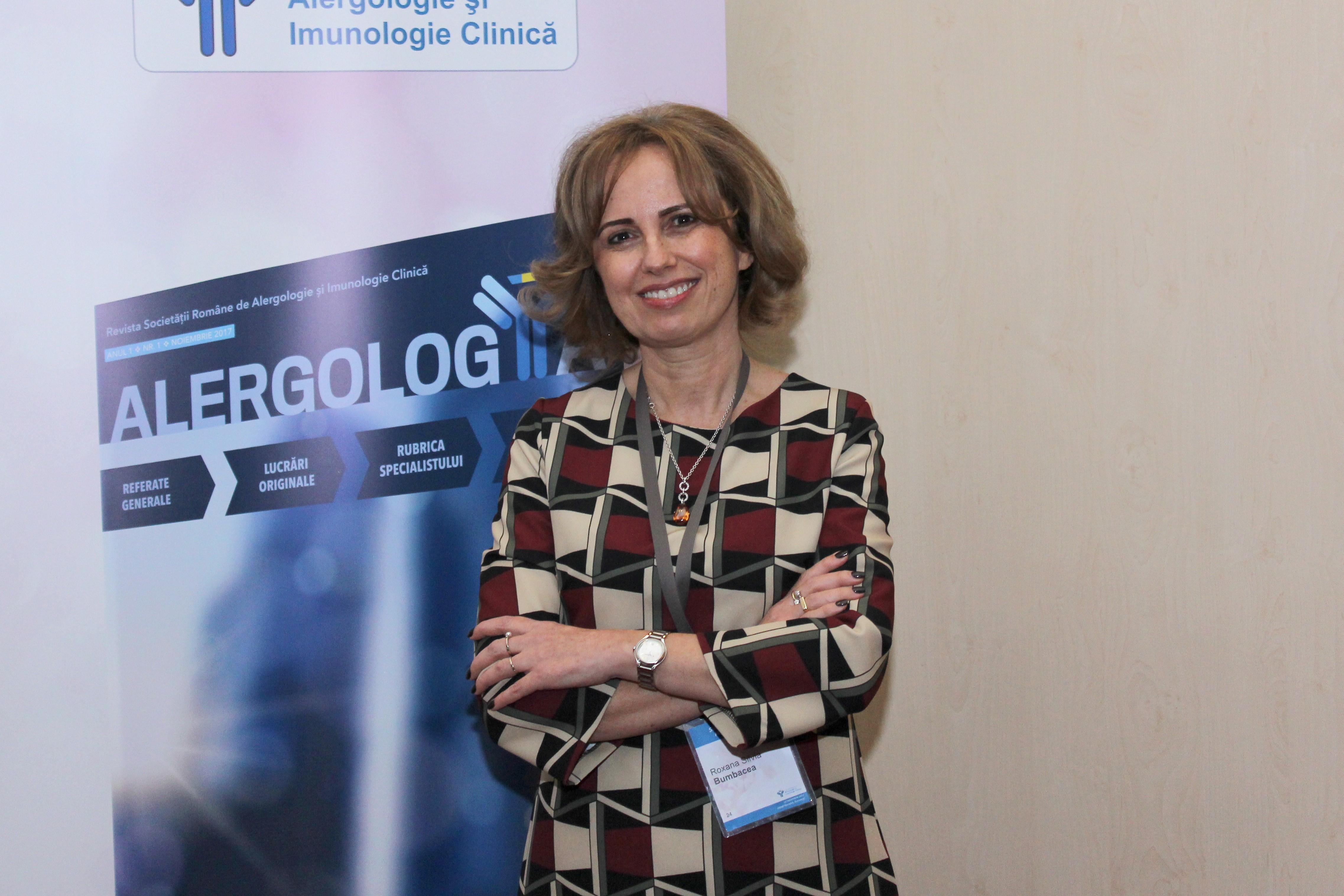 Conf. dr. Roxana Bumbăcea, președintele SRAIC